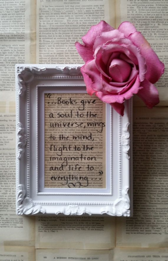 Shabby Chic Framed Quotes Handmade by Megan by MeganHenryAuthor ...