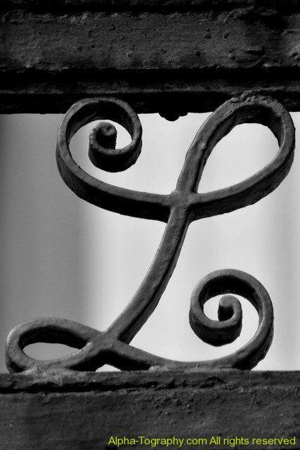 Alphabet Photography L