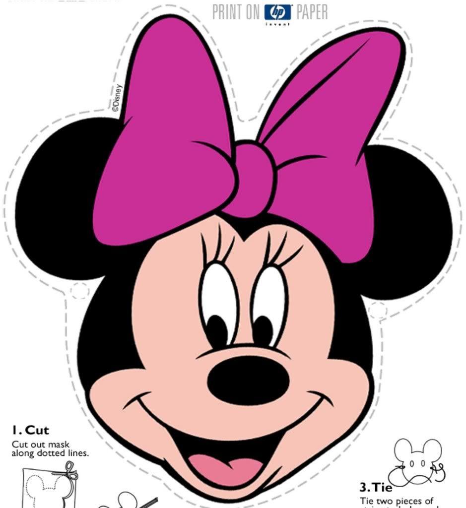 Minnie Mouse Cara De Minnie Mouse Caritas De Minnie Edredon Disney