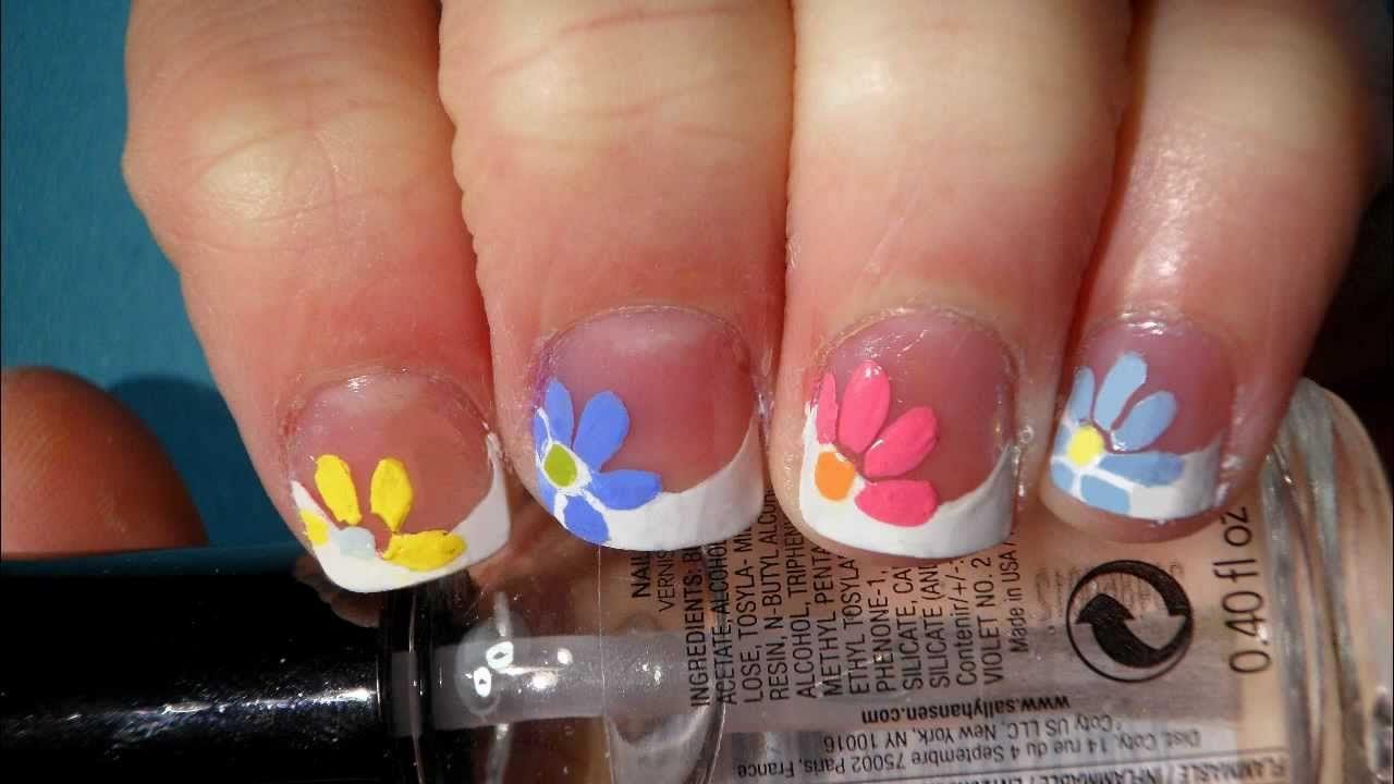 Spring Nail Designs Quick And Easy Flower For Spring Nail Art