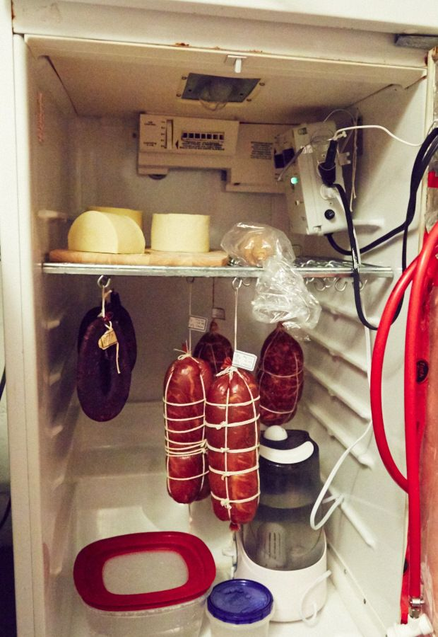 Superbe Meat Curing Chamber At Home. This Meat Curing Chamber Is Advanced Enough To  Allow Full
