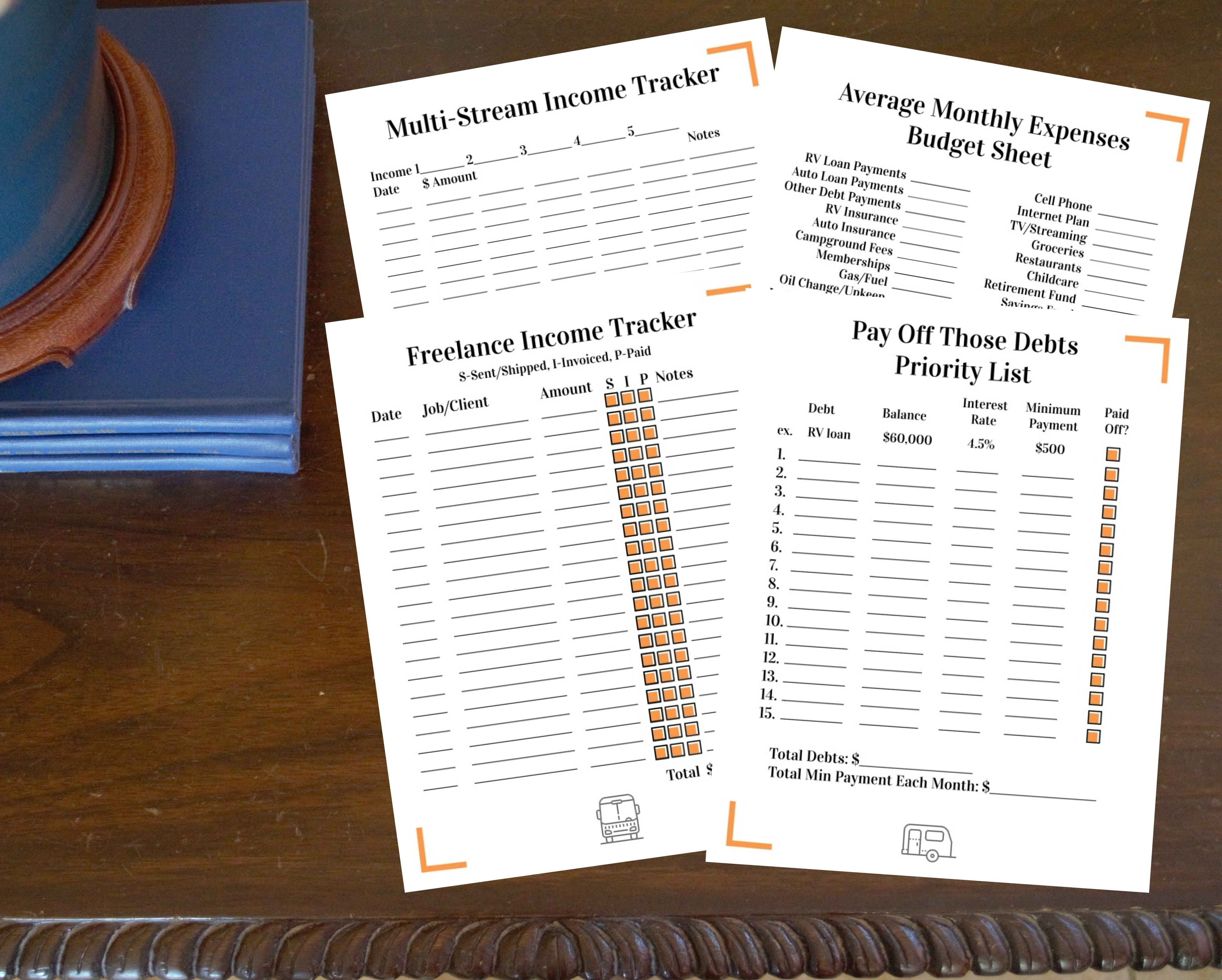 Budget Pack For Full Time Rv Travelers In