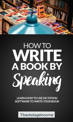 What program to use for writing a book