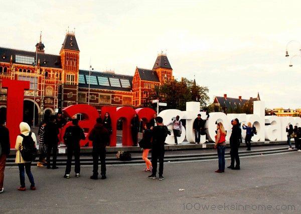 'I Amsterdam' at Rijks Museum