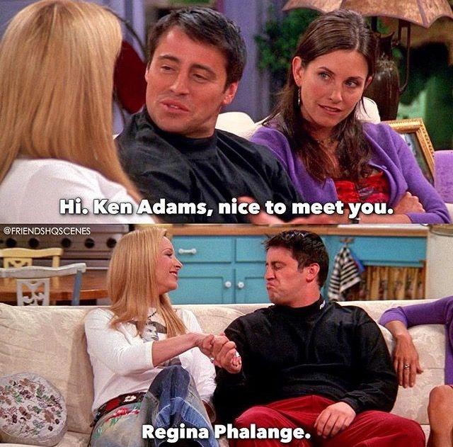 Regina phalange friends