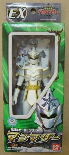White Ranger/MagiMother (Mystic Force/Magiranger) I think the reason it was not released because she is a woman and Bandai America believe girl toys don't sell. There were plans to release her as 'Winter Ranger' over Christmas, but the rumor is that Wal-Mart was not for it. #∆∆shani