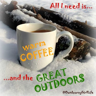 good morning coffee great outdoors hiking quote follow me