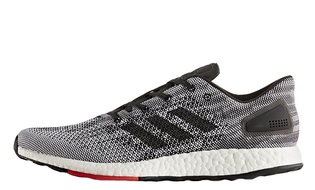 The adidas Pure Boost DPR Black White is brand-new take on the already  contemporary efaf90a8b6c1