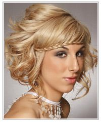 Plait hair up wedding braid styles