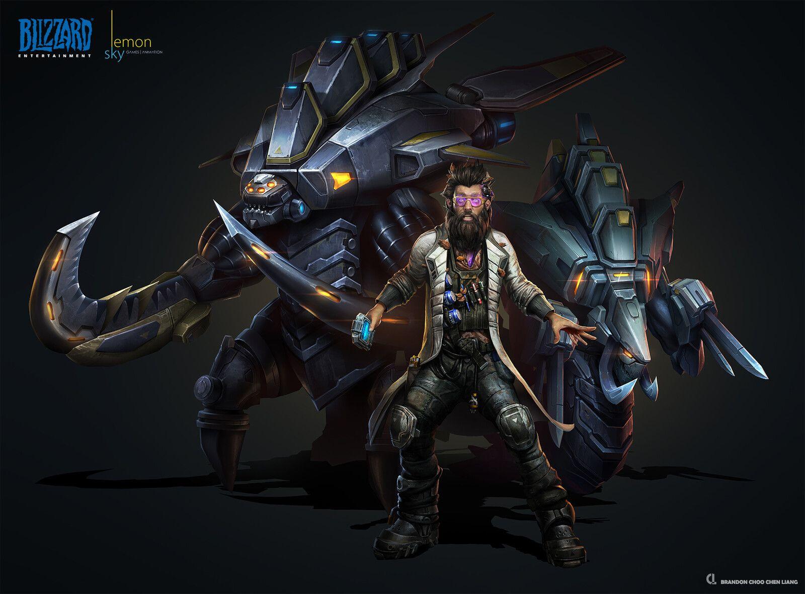 ArtStation - StarCraft II Co-op Commander: Stetmann, Brandon Choo Chen  Liang in 2020   Starcraft, Cdr, Artwork