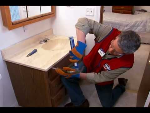 how to replace a vanity and sink diy bathroom vanity on replacement countertops for bathroom vanity id=50041