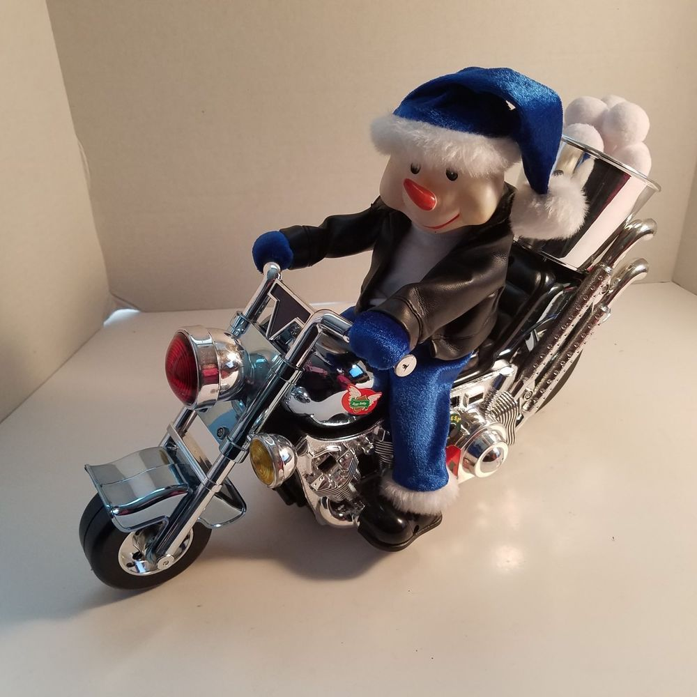 Dan Dee Collector S Choice I M Just A Love Machine Snowman On Motorcycle Video Dandee Love Machine Snowman Gifts For Mom