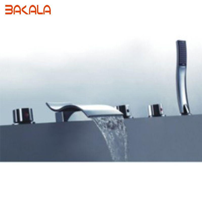Manufacturer BAKALA Luxury waterfall bathtub faucet bathroom bath ...