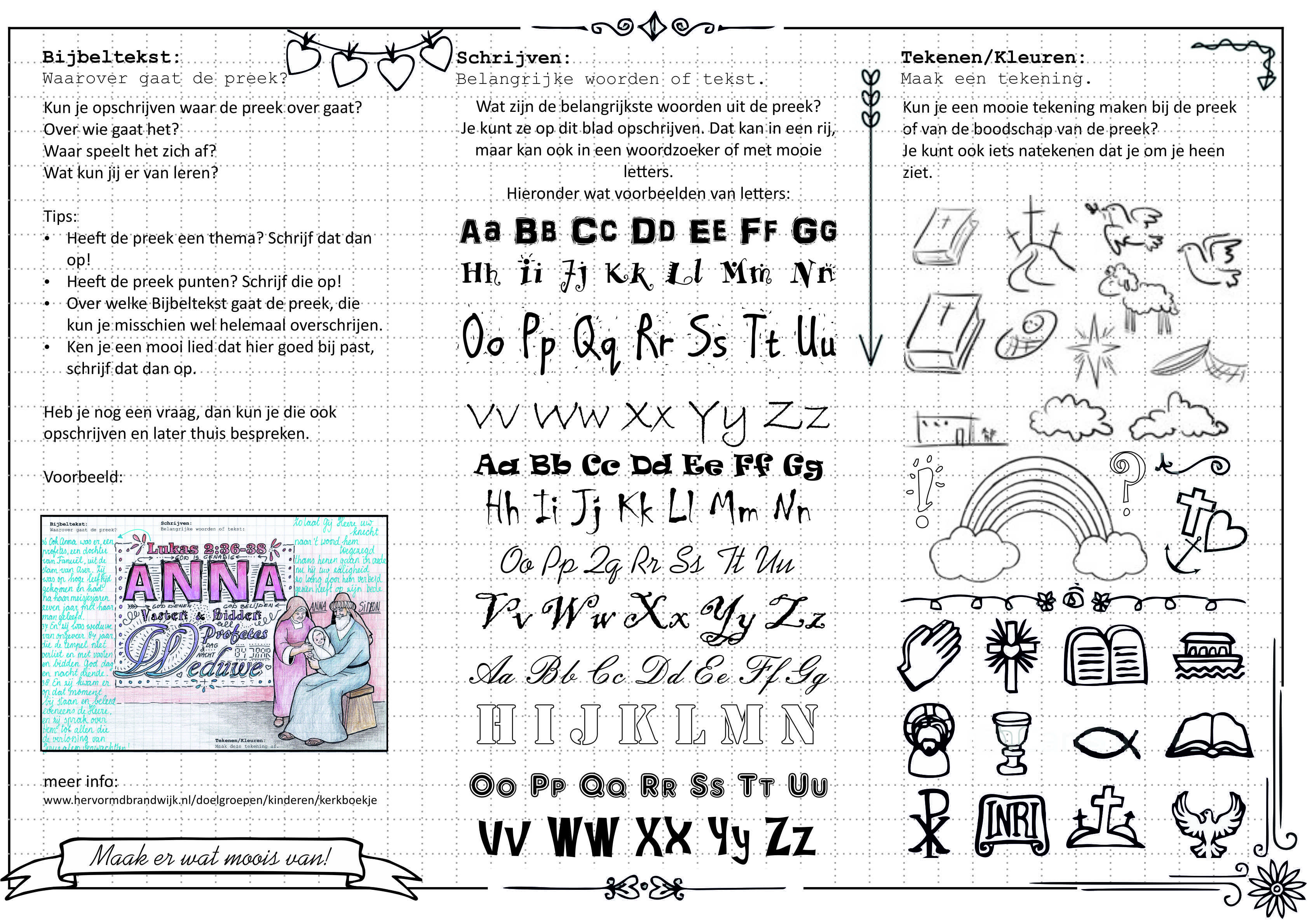Tips Om Preeknotities Te Maken Voor Kinderen Preekjournaling Zondagschool Voor Kinderen Activiteiten