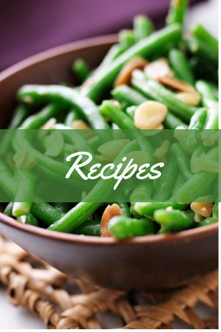 Green beans with toasted almonds cooking green beans