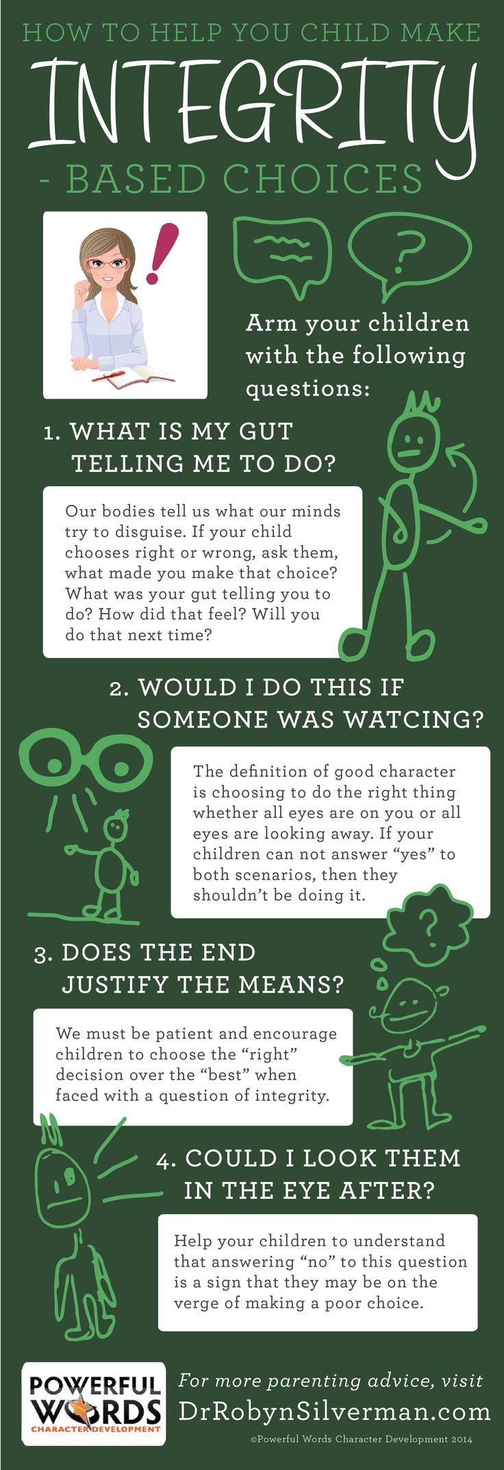 How to help your child make integrity based choices This