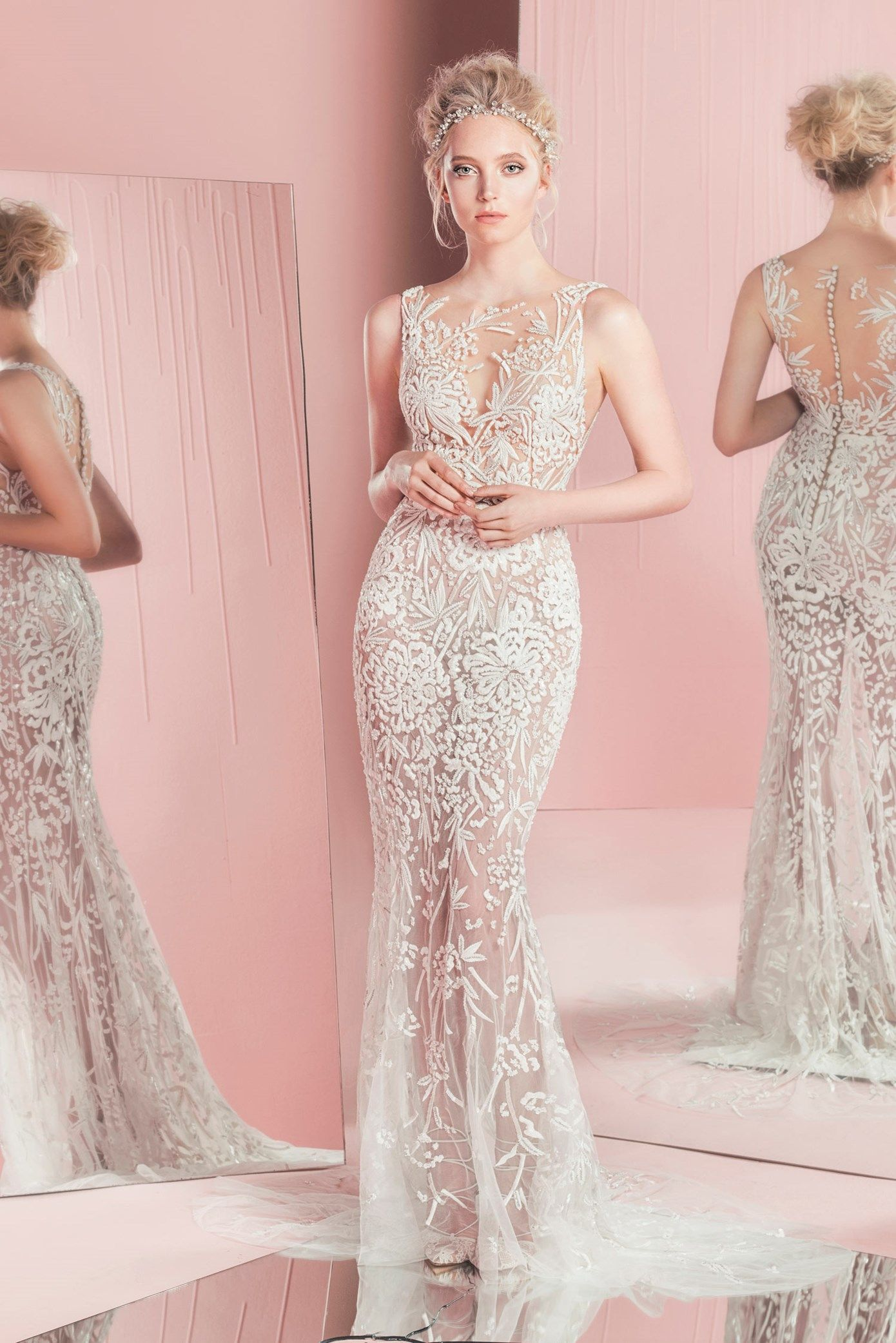Paola // Zuhair Murad Bridal SS 16 | NOVIAS | Pinterest | Vestido de ...