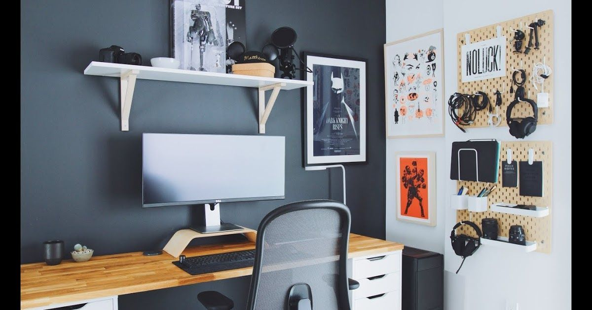 Diy Home Office And Desk Tour A Designer S Workspace Youtube Unique Creative W Creati In 2020 Home Office Setup Home Office Table Office Inspiration Workspaces