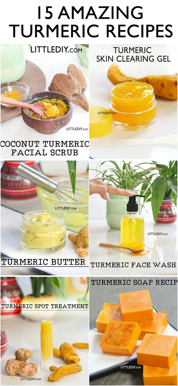 There Are So Many Amazing Ways To Use Turmeric For Clear Healthy And Glowing Skin From Creams Soaps Loti Turmeric Recipes Healthy Skin Care Turmeric Facial