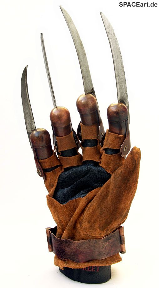 nightmare on elm street 2010 freddy krueger handschuh fertig modell. Black Bedroom Furniture Sets. Home Design Ideas