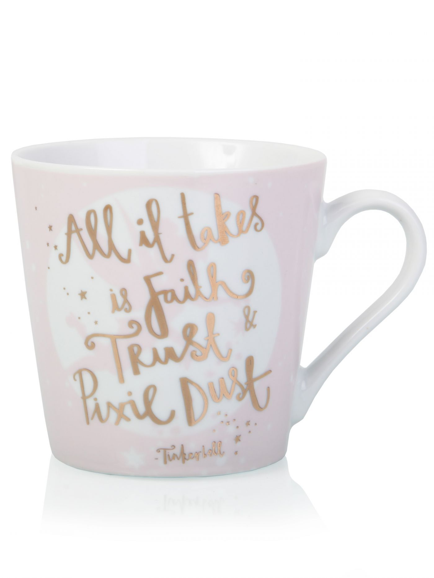 Tinker Bell Quote Mug - Clintons