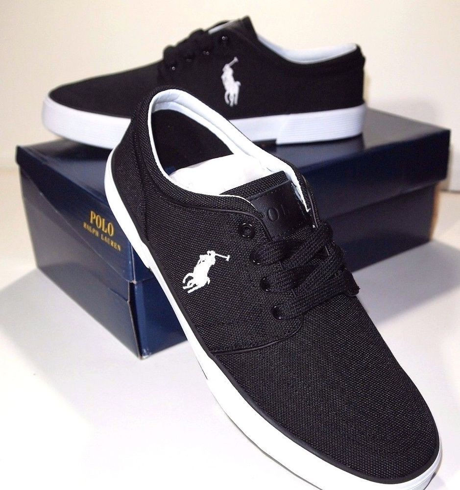 ab65c657d Polo Ralph Lauren faxon low pique nylon size 10 D new in box   PoloRalphLauren  FashionSneakers