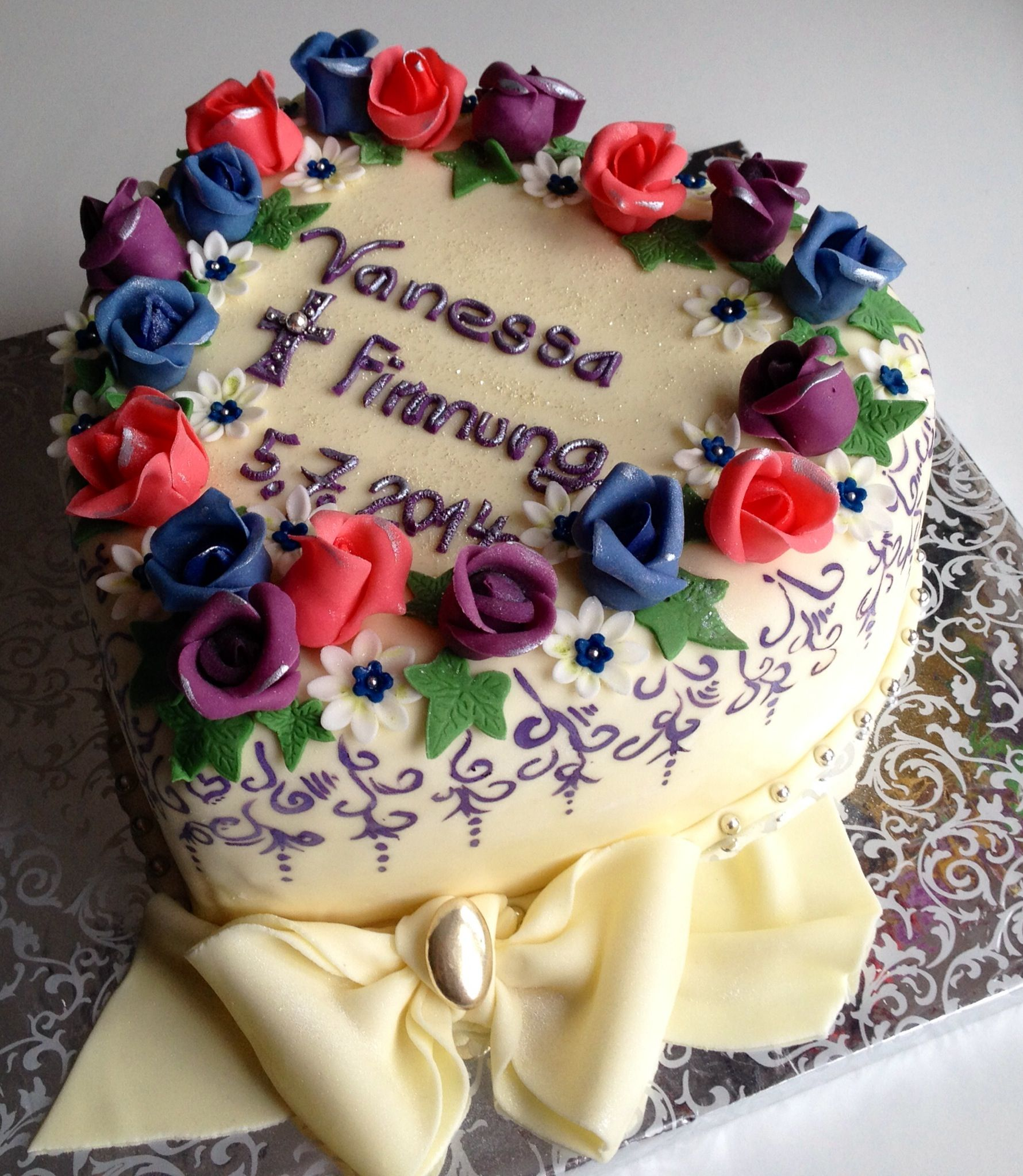 Firmung Torte
