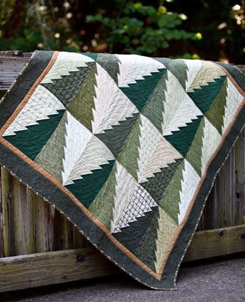 Like this Tree Quilt a lot! Pattern: Into The Woods by Connie ... : timberline quilt - Adamdwight.com