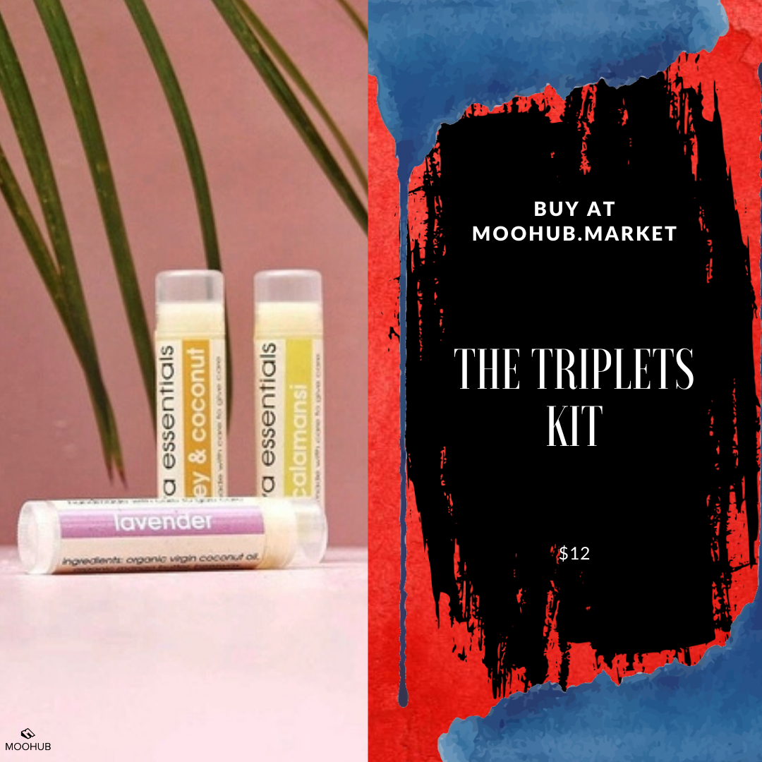 No excuses for having dry lips in 2020. These deliciously scented lip balms will hydrate, protect and soften your lips.  Visit our online market to find out more about this and other products.  #moohub #lipbalm #lipstick #lipcare #lipscrub #skincare #beauty #makeup #lipbalmmurah #lips #bibirkering #lipmatte #lipgloss #liptint #liptreatment #perawatanbibir #handmade #pelembabbibir #lipcream #organic #natural #naturalskincare #bibircantik #liplapin #lipbalms #lip #market #onlinemarket #retaile