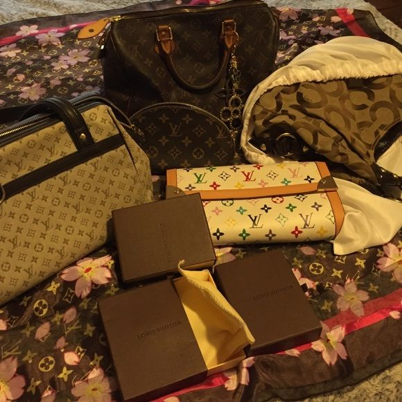 Posh Appreciation!! Love my collection!! Louis Vuitton Bags