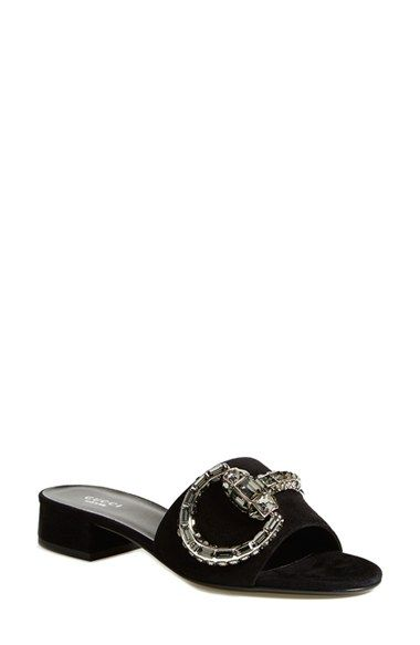 f9e71e52218 895 Gucci  Maxime  Jeweled Slide Sandal (Women) available at  Nordstrom