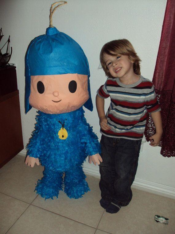 Piñata Pocoyo | Atrapasueños | Pinterest | Cumpleaños, Pocoyo y Mi ...
