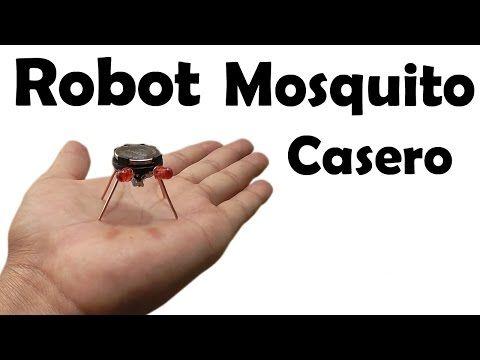 C mo hacer un robot mosquito casero muy f cil de hacer for Mecanismos de estores caseros