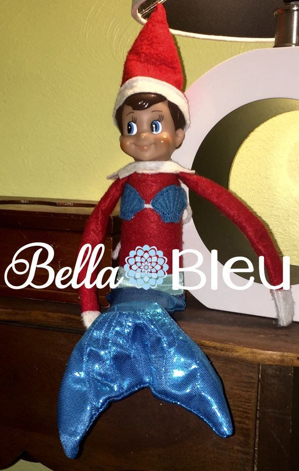 Ith In The Hoop Elf Mermaid Tail And Shell Set Accessory Machine