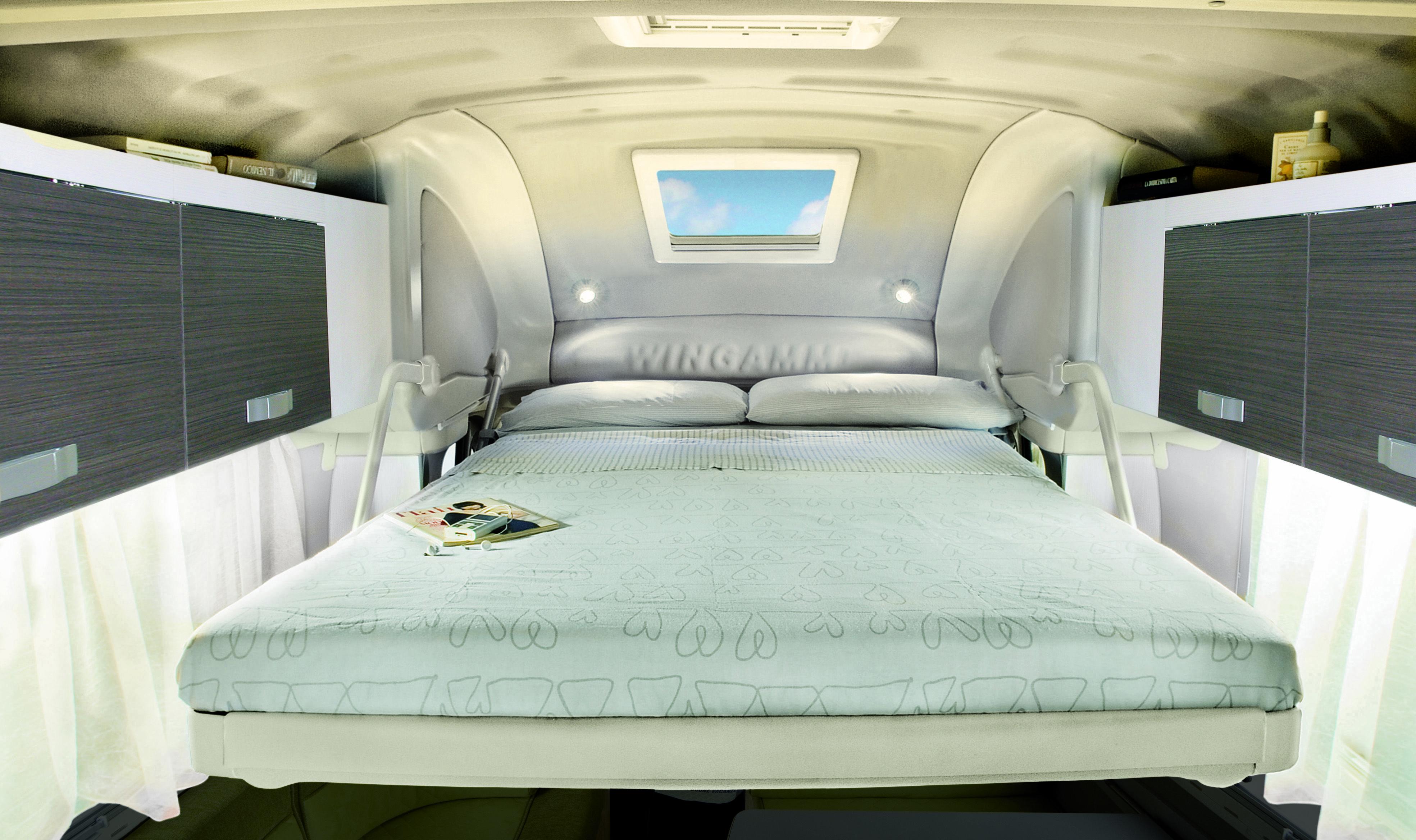 The Drop Down Bed Campervan Interior Motorhomes For Sale Motorhome