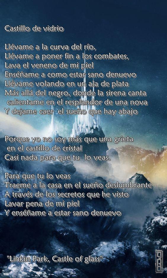 Letra De Castle Of Glass En Espaol De Linkin Park Letra De
