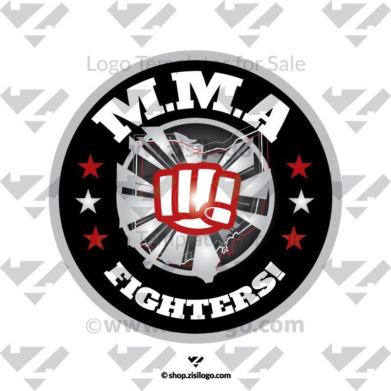 MMA Fight Logo Templates. Logo Store - Logo Stock. Buy High quality ...