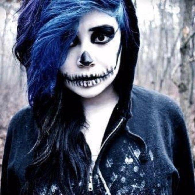skeleton makeup ideas for halloween 34 - Halloween Skeleton Makeup Ideas