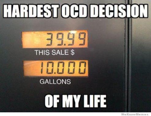 Hardest OCD Decision Ever