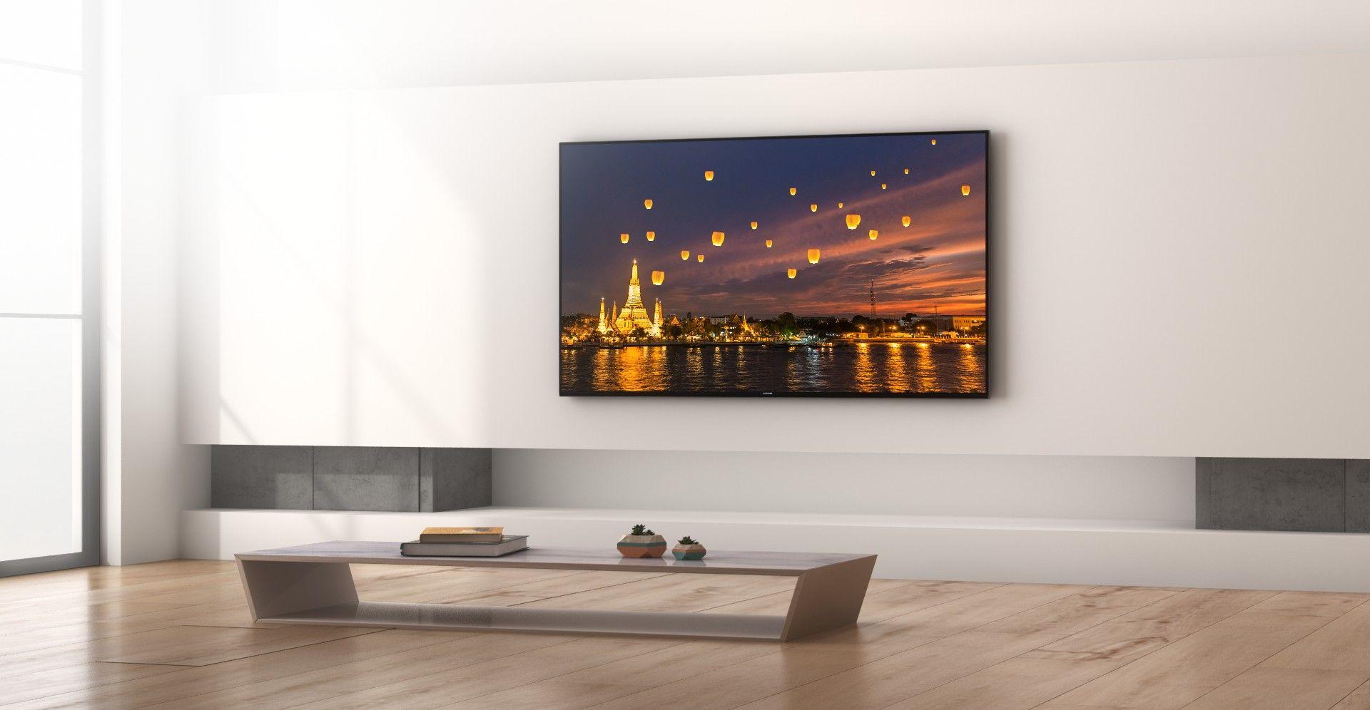 55 Inch Hu7500 3d 1000 Cmr Uhd 4k Led Tv Samsung Uk Wall Mounted Tv Samsung Tv Mount 75 Inch Tvs