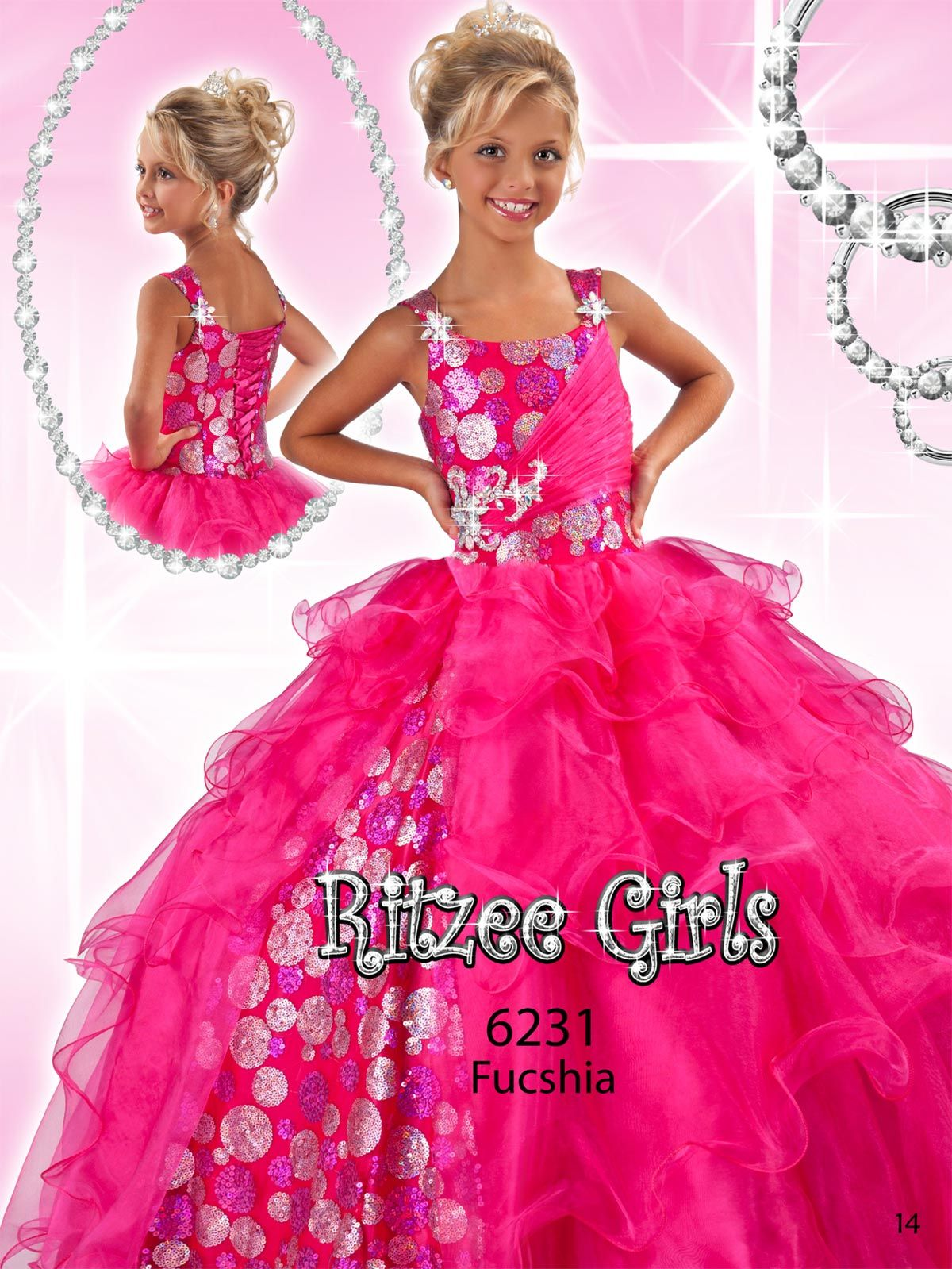 1000  images about glizt on Pinterest  Girls pageant dresses ...