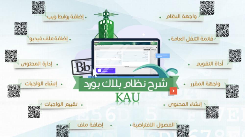 بلاك بورد جامعة الملك عبدالعزيز Blackboard Kau تعليم عن بعد خدماتى Map Map Screenshot
