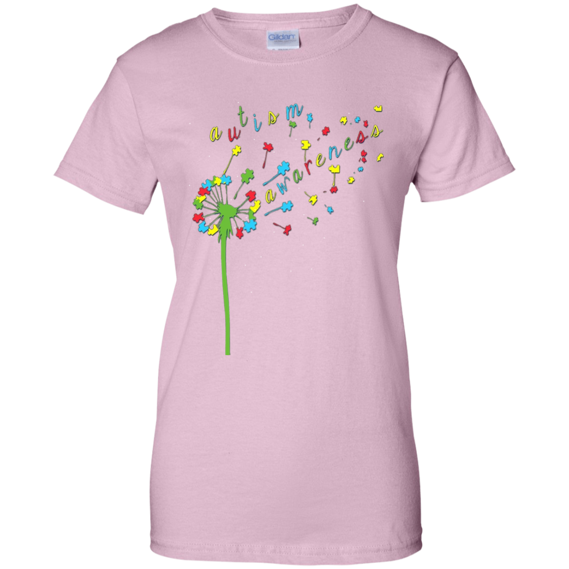 272571df7 Autism Shirts - Autism Awareness Ribbon T-shirts Mom/Dad/Kid G200L Gildan  Ladies' 100% Cotton T-Shirt