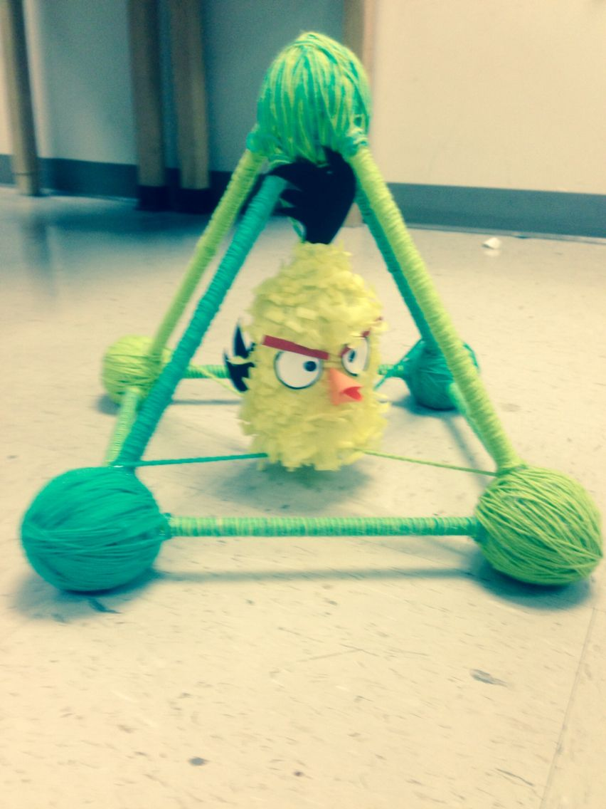 Egg Drop Project Angry Birds Living Things Egg Drop