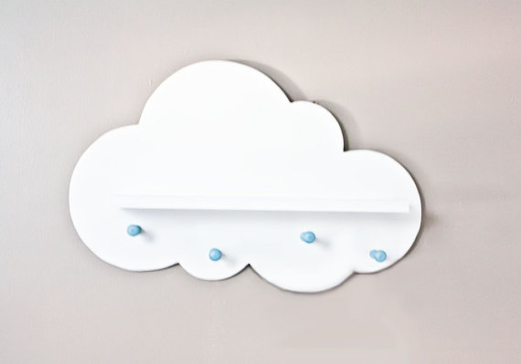 Cloud Wall Shelf E Saver By Littles On Etsy