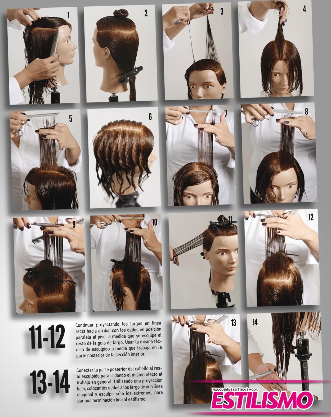 Tecnicas de corte de pelo desmechado