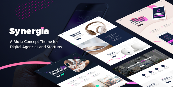 Synergia - A Multi-Concept Premium Theme for Digital Agencies and ...