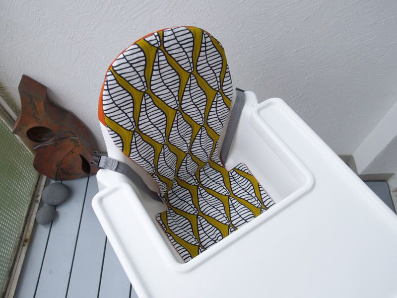 Ikea Antilop High Chair Cover with Pattern