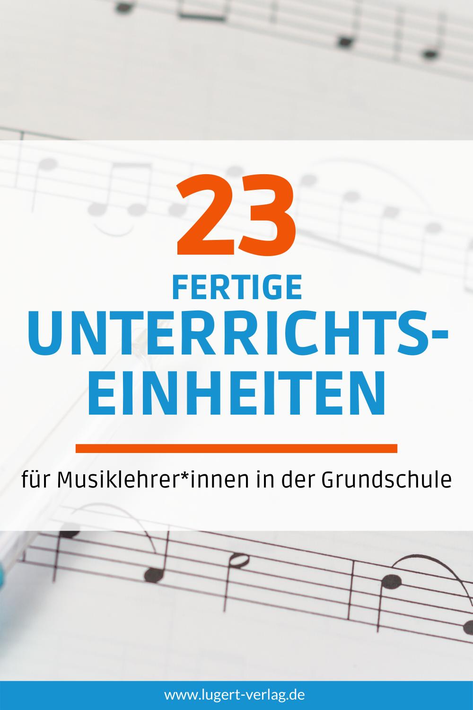 20 fertige Unterrichtseinheiten für den Musikunterricht in der ...