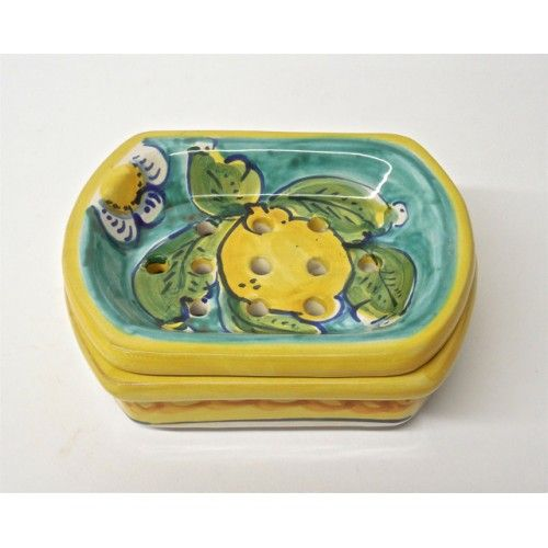 Limoni di Sicilia Turquoise Soap Dish - I bought this for my Mom and she LOVES it!  Thank you @bonechiimports